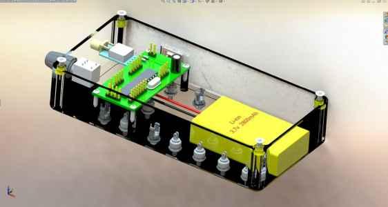 пульт управления квадрокоптером