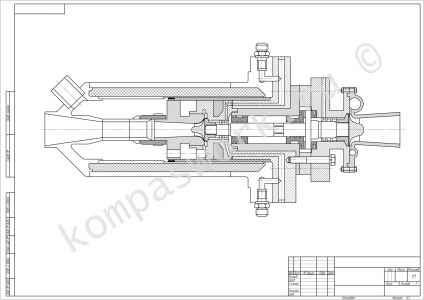 турбина (чертеж)